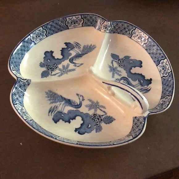 Other - English Blue and White Dish